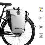 Оригинал              AFISHTOUR Складной велосипед 15-25L Заднее сиденье Сумка Водонепроницаемы Велоспорт Сумка Подседель Сумка MTB Багаж Задняя рама Сумка