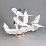 Оригинал              MinimumRC 400 мм Размах крыльев Лодка Комплект самолета Voyager RC для самолета с Мотор