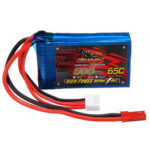 Оригинал              DINOGY 11.1V 500mAh 65C 3S Lipo Батарея JST Разъем для FPV RC Racing Дрон