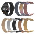 Оригинал              Bakeey 22 мм Универсальный Милан из нержавеющей стали Стандарты для Haylou Солнечная Xiaomi Watch Color Huawei GT Amazfit GTR