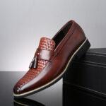 Оригинал              Мужская кисточка из микрофибры с нескользящей деловой повседневной формальной обувью