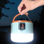 Оригинал              IPRee® LED солнечный Кемпинг Light Дистанционное Управление 3 режима USB аккумуляторная работа Лампа IP6 Водонепроницаемы Power Bank На открытом воздух