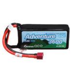 Оригинал              Gens ace Adventure 11.1V 3600mAh 50C 3S Lipo Батарея T Plug для RC Авто