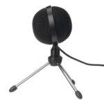 Оригинал              USB Микрофон Mini Wired Микрофон с Штатив Live Desktop Микрофон для ноутбука