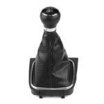 Оригинал              5-ступенчатая ручка переключения передач рукоятка рычага переключения передач Кожа для VW Golf Jetta MK5 MK6 UK