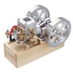 Оригинал              Eachine ET6 Horizontal Hit and Miss Complete Двигатель Модель STEM Upgrade Gas Двигатель Игрушки