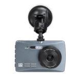 Оригинал              3,5 дюйма HD 170 градусов Dual Объектив Авто Видеорегистратор Передняя и задняя камера Видеорегистраторная видеорегистратор Набор