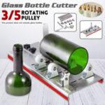 Оригинал              Шкив 3/5 DIY Автомат для резки стеклянной бутылки Банка Recycle Crafts Art
