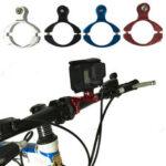 Оригинал              BIKIGHT 1 ШТ. Велосипед Алюминиевый Руль Бар Зажим Крепление для Gopro Hero 3+ камера Велосипед камера Клип Держатель