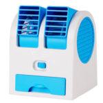 Оригинал              USB Мини Портативный Настольный Кондиционер Маленький Вентилятор Охлаждения Увлажнитель Охладителя