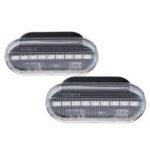 Оригинал              2 ШТ. LED Боковой габаритный фонарь Указатели поворота Ясно Объектив Для VW Golf MK4 97-05 Бора