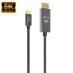 Оригинал              Bakeey Type-C К Displayportport Кабель-адаптер 8K @ 60 Гц USB 3.1 HD Видеокабель для Macbook