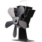 Оригинал              Жара огня камина вентилятора печи лезвия 1100RPM 5 деревянная приведенная в действие сохраняя вентилятор Ecofan Бесшумный