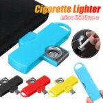 Оригинал              Bakeey Портативный мини-адаптер C-Lighter Micro USB Type-c подключен к мобильному телефону для Huawei P30 P40 Pro Xiaomi MI10 Redmi Note 9S