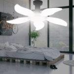 Оригинал              E27 / B22 LED Гараж Лампа 2/3/4/5 Лопасти Складная лампочка Деформируемый потолочный светильник Освещение мастерской
