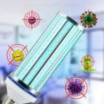 Оригинал              60 Вт UV Бактерицидный Лампа LED UVC Колба E27 Стерилизующий свет для бытовой дезинфекции