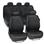 Оригинал              9шт искусственная кожа Авто внедорожник чехол на сиденье передний задний полный комплект подушка протектор 5 мест