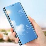 Оригинал              Bakeey для Xiaomi Mi Note 10 Lite Чехол Покрытие Mirror Окно противоударный Флип Полный защитный чехол Чехол