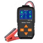 Оригинал              MDXT-600 12 В 24 В Цвет LCD Дисплей 7 языков Батарея Тестер Диагностика зарядки Инструмент Сертификат CE RoHS Авто мотоцикл Sysetem Test