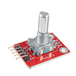 Оригинал              Цифровая сигнальная плата модуля поворотного энкодера Keyes Brick с выводом цифрового сигнала