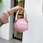 Оригинал              Женские баскетбольные цепочки Повседневная сумка PU Crossbody Сумка