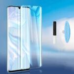 Оригинал              Bakeey HD Clear UV Жидкий полный клей Крышка Изогнутый Anti-Взрыв Soft Протектор экрана из закаленного стекла для Xiaomi Mi Note 10 Lite