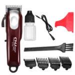 Оригинал              3 в 3 в 1 Многофункциональная электрическая USB аккумуляторная Волосы машинка для стрижки гравировальная парикмахерская Триммер малошумная