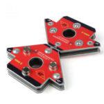 Оригинал              2 шт. Упаковка стрелка магнитная сварка Зажим NdFeB магнитный сварочный держатель для трехмерной сварки малый размер