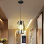 Оригинал              Промышленная металлическая люстра в стиле ретро в оливковом стиле Провод Клетка для потолка Кулон Световая тень для столовой на чердаке
