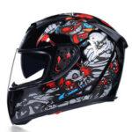 Оригинал              Шлем с двойным козырьком JIEKAI мотоцикл Полнолицевые мотошлемы Мотокросс шлем Casco Modular Motorbike Capacete Casco Moto