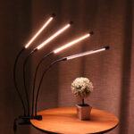 Оригинал              4 головки 144 LED 72 Вт Растение Flower Grow Light Лампа Hydroponics Full Spectrum USB