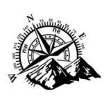 Оригинал              Наклейка на капот, наклейка с большим компасом, для дома на колесах, автофургона, фургона, Авто, Лодка, 60×50 см