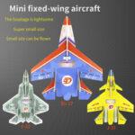 Оригинал              Mini SU27 / J-15 / F-22 Самолет 300 мм размах крыла Микро-боевой самолет RC Самолет KIT / PNP