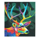 Оригинал              Многоцветный олень Масло Набор для рисования по номеру Набор DIY Художественная роспись пигментом Инструмент