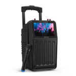Оригинал              BlitzWolf® BW-DM1 30 Вт, TFT Экран, беспроводной динамик для караоке для вечеринок, с экраном TFT, звуком Hi-Fi, беспроводным микрофоном, несколькими порт
