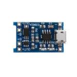 Оригинал              20 шт. TP4056 Micro USB 5V 1A литиевая Батарея плата защиты зарядки TE585 Lipo зарядное устройство