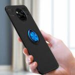 Оригинал              Bakeey для POCO X3 NFC Чехол Вращающийся на 360º магнитный держатель кольца Soft Силиконовый Противоударная защитная крышка Чехол Задняя крышка