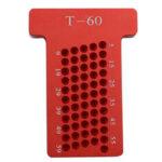 Оригинал              T60 Линейка Т-типа Измерение отверстий Разметчик для деревообработки Маркировщик