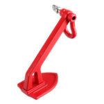 Оригинал              Металлическая лебедка, якорь, заземление, складывание, украшение Инструмент для 1/10 TRX4 TRX6 RC4WD SCX10 RC Запчасти для гусеничных тележек
