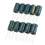 Оригинал              10 шт. 4700 мкФ 25 В 16 * 26 мм электролитический конденсатор