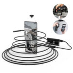 Оригинал              DIGOO DG-YPC99 5.5mm 720P 2 Megapixel Smart WIFI Borescope Inspection камера Кабель 3 в 1, 5 м
