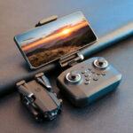 Оригинал              LANSENXI LS-XT6 Mini WiFi FPV с 4K / 1080P HD Двойной камера Режим удержания высоты Складной RC Дрон Квадрокоптер RTF