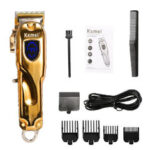 Оригинал              KEMEI-2010 All Metal Retro Масло Head Electric Cordless Триммер Wireless Portable Волосы Машинка для стрижки