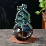 Оригинал              Обратный водопад Керамический Курильница для благовоний Курильница для дома Yoga Relax Creative Decoration