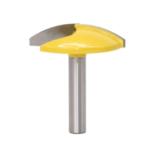 Оригинал              Drillpro 8 мм Фрезы для малых чаш с хвостовиком 1-1 / 2 дюймов Радиус 1-3 / 4 дюймов Нож с широкой дверью Деревообрабатывающий фрезерный станок RCT