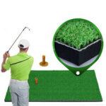 Оригинал              30×60 / 90см травяной тренировочный коврик для гольфа Тройник из оксфорда для гольфа Коврик для дальнего боя Коврик для поля для гольфа с резин