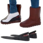 Оригинал              Регулируемая стелька для увеличения высоты на 3-7 см, подъемная подушка для обуви, вставка для пятки, выше Женское, мужские подушечки для обу