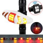 Оригинал              BIKIGHT Дистанционное Управление Велосипедный задний фонарь LED Направленный аварийный свет Кемпинг Лампа Для ночного велоспорта детская кол