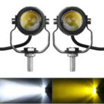 Оригинал              2PCS мотоцикл Spot Light LED Driving Head Fog Driving Лампа Белый Водонепроницаемы