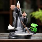 Оригинал              Курильница с обратным потоком водопад Держатель для курильницы Home Decor Yoga Relax Gift